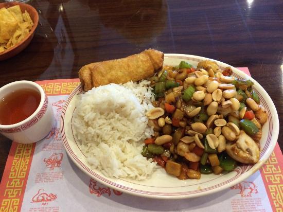 Farmington, MI: Kung Po combo lunch