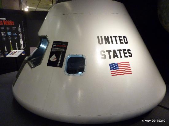 Museum of Science: Apollo command module
