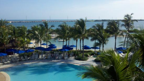 Hawks Cay Resort: Our room view!