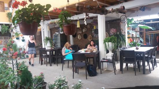Piedra del Mar Hotel Boutique: Area de Cafetería