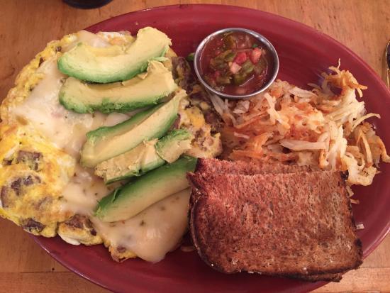 Log Cabin Cafe: Omelets