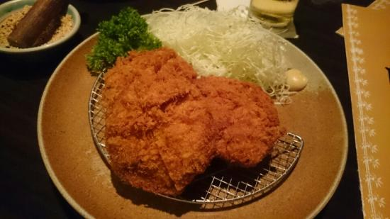 Katsuichi: 黒豚上ヒレカツ
