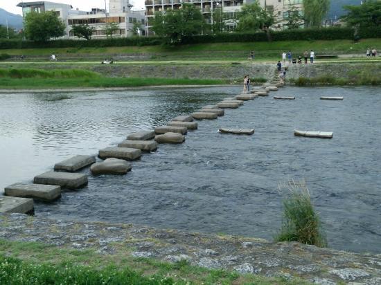 how to go to kamogawa river