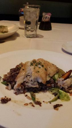 Roy's: red snapper with quinoa
