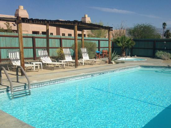 Borrego Valley Inn: One of two pools on property.