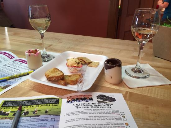Rochester, IN: wine shot glasses