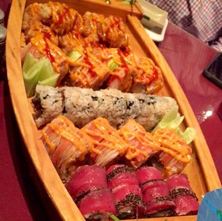 Shinto Japanese Restaurant: Some of the best sushi around