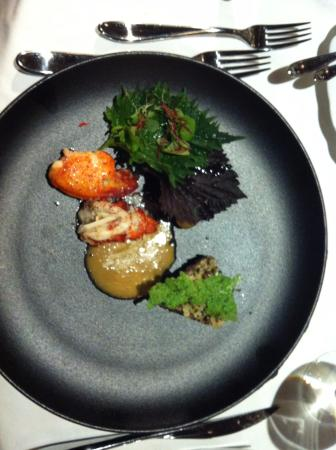 Corbeau d'Or : Lobster with Champagne sauce
