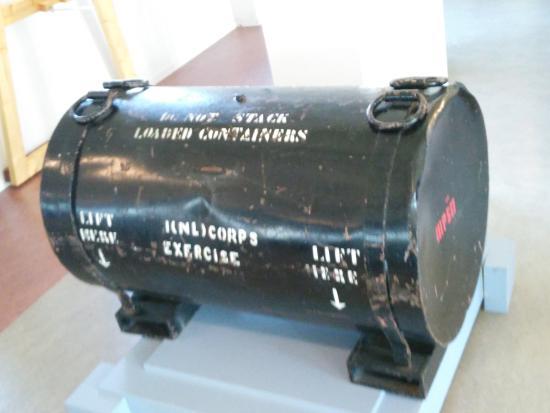 Geniemuseum: ADM - Atomic Demolition Munition (oefenmijn)