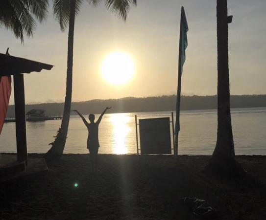 Waterfront Insular Hotel Davao: Sunrise