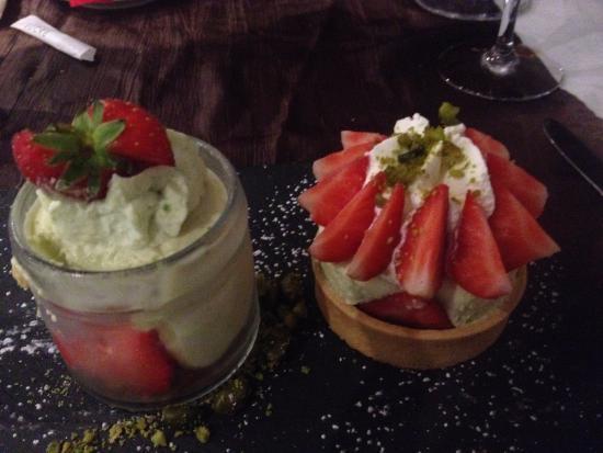 dessert aux fraises picture of la boheme le mans tripadvisor