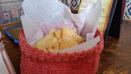 San Clemente, CA: house made chips
