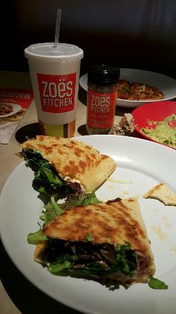 Ham piadina - Picture of Zoes Kitchen, Tulsa - TripAdvisor
