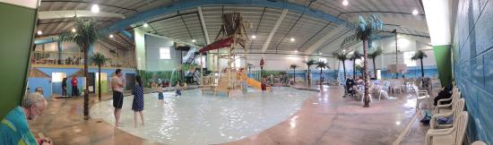 Carribean Indoor Water Park : Had a great birthday party