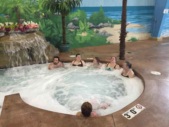 Carribean Indoor Water Park: Had a great birthday party