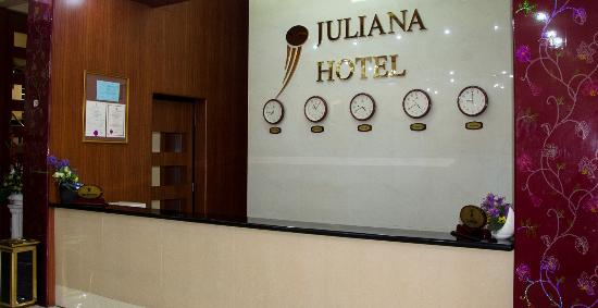 Juliana Hotel: Reception