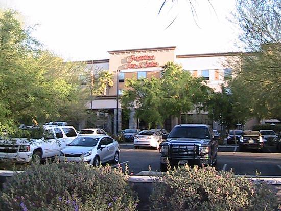 Hampton Inn & Suites Phoenix North/Happy Valley: Front View of Hampton Inn at 2550 W Charlotte Dr, Phoenix, AZ