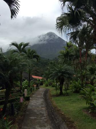 View on Arenal from hotel