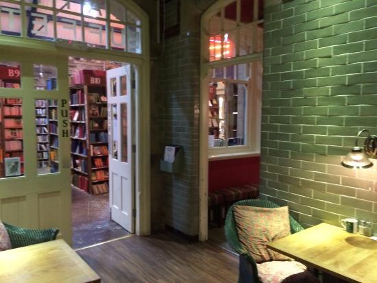cafe door opening into the bookshelves picture of barter books rh tripadvisor com sg