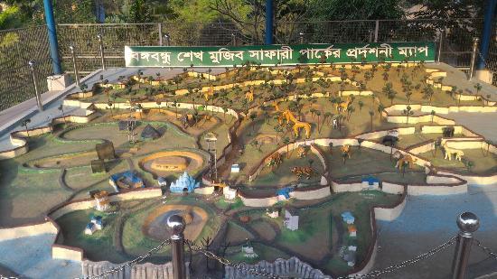 Gazipur, Bangladesh: Bangabandhu Safari Park
