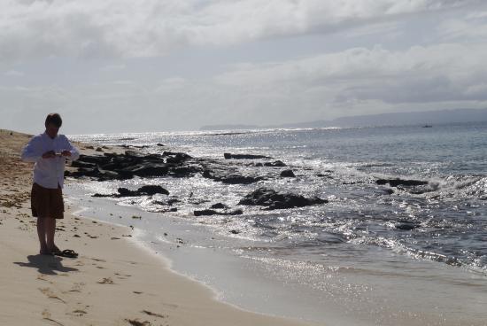 Hagonoy Island: clear water