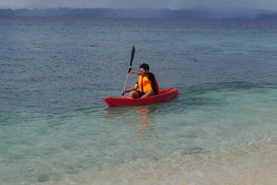 Hagonoy Island: kayaking