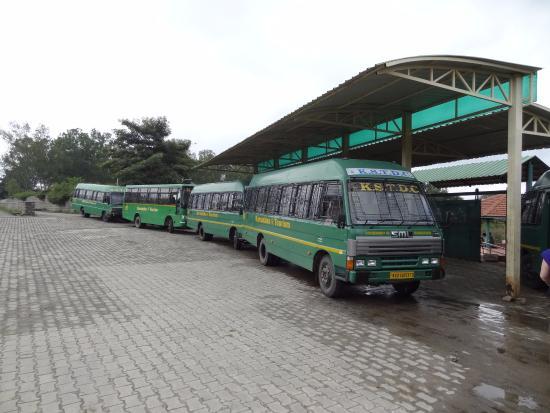 Bannerghatta National Park: de bussen van het safariritje