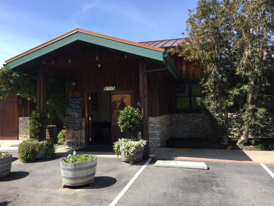 Harmony, Kaliforniya: Front entrance