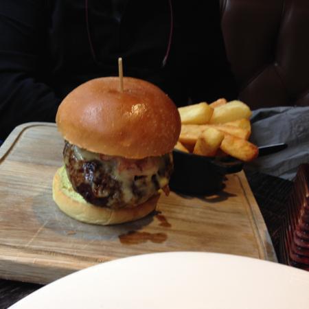 Hubby's burger