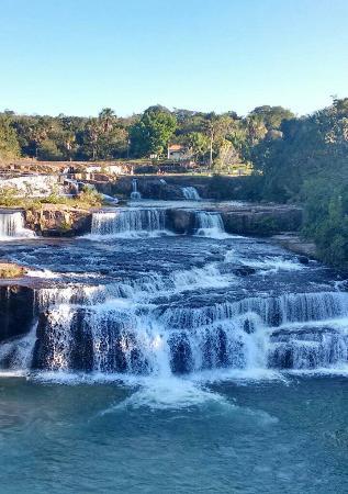 Rio Verde de Mato Grosso, MS: Balneário 7 Quedas do Didi