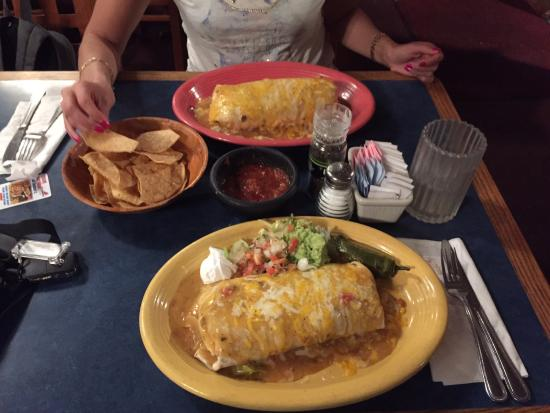 Los Domingos Mexican Restaurant: Lekkere burrito's