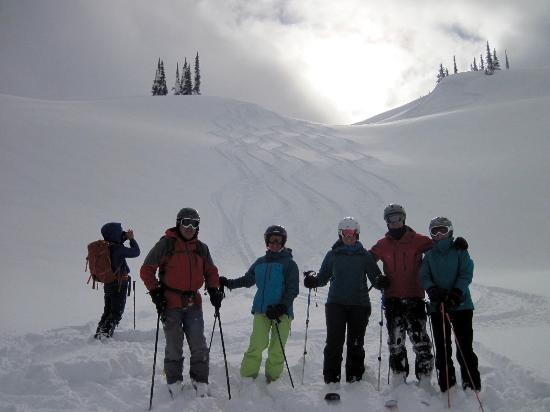 Great Northern Snowcat Skiing: Clean tracks