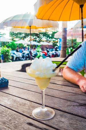 Old Man's Bali: Delicious lime granita