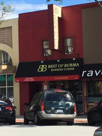 San Mateo, كاليفورنيا: Best of Burma