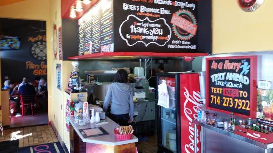 Peter's Gourmade Grill: inside
