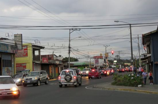 San Lorenzo de Flores, Costa Rica: The San Joaquin town center