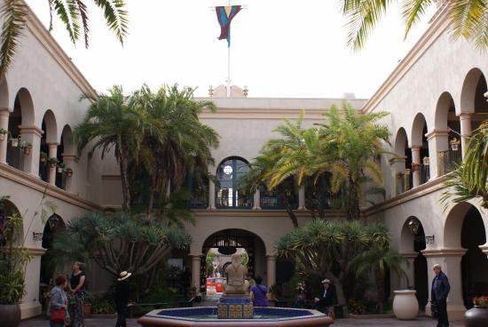 The Prado At Balboa Park Restaurant El S Courtyard