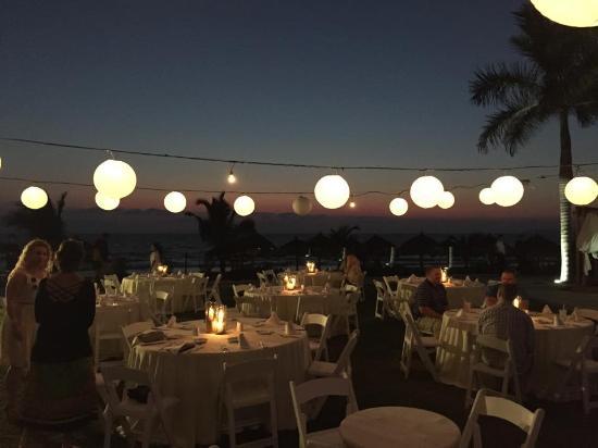 rehearsal dinner at splash terrace