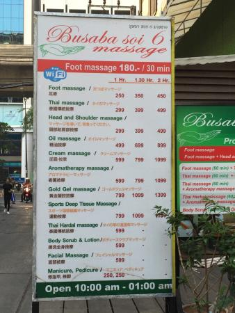 Busaba Soi 6 Massage
