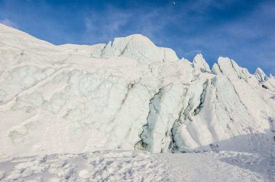 Sutton, Αλάσκα: ice mountain