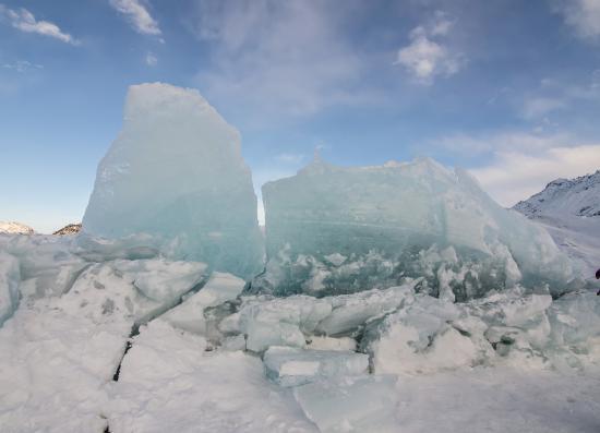 Sutton, Αλάσκα: Glacier force.