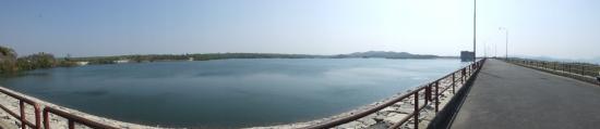 Purulia, India: upper dam