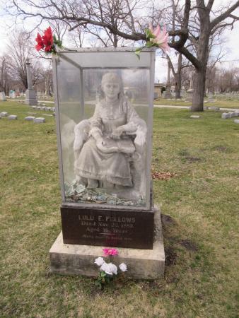Rosehill Cemetery: Lulu Fellows