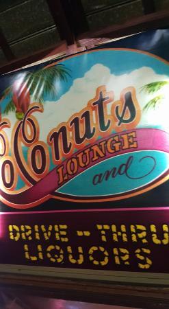 Coconuts Bar & Liquor Store: Coconuts.