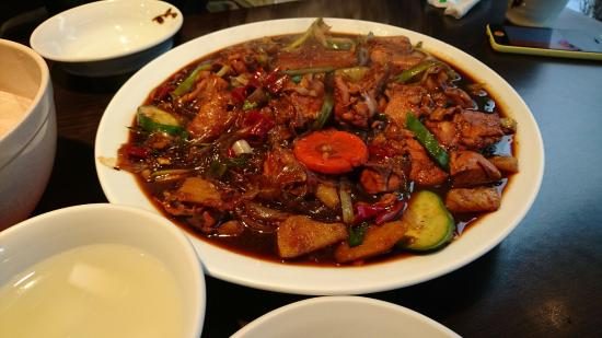 Bongchu Braised Spicy Chicken With Vegetables