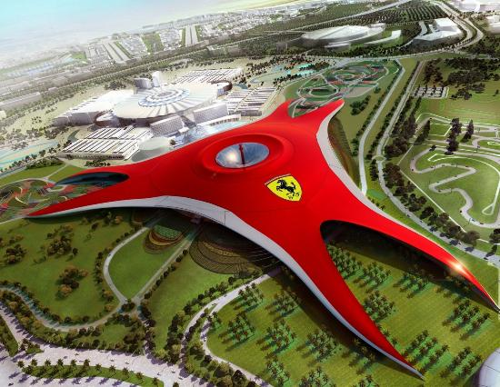 Gray Line Emirates: Ferrari world