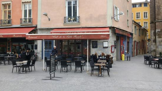 Photo De Caf De La Table Ronde Grenoble Tripadvisor