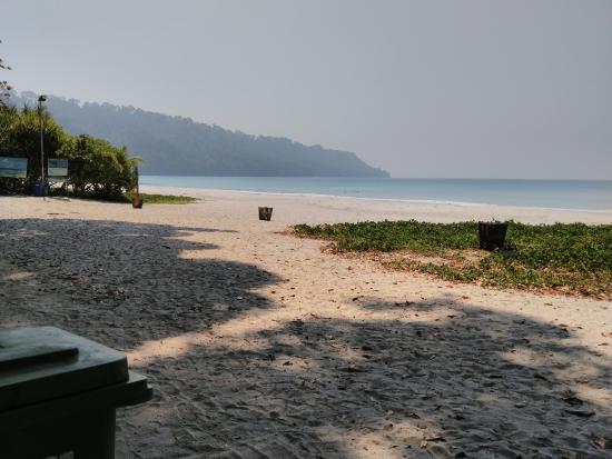 Radhanagar Beach: Beach