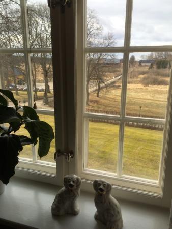 Gnesta, Zweden: Vy från gemaket