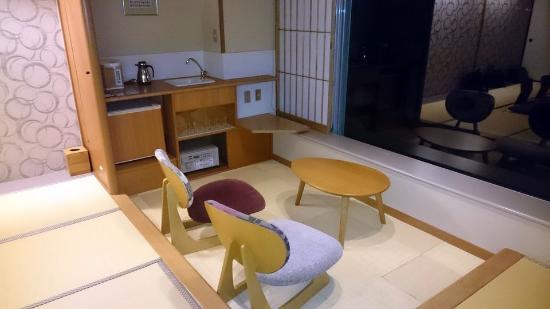Matsushima Ichinobo : Sitzecke mit Teeküche